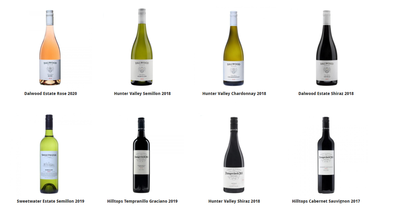 Hungerford wines