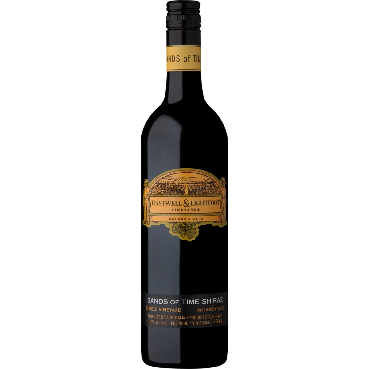 HASTWELL & LIGHTFOOT   SANDS OF TIME   SHIRAZ   2016