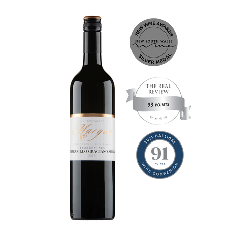 2018 WHITE LABEL TIMBERVINES TEMPRANILLO GRACIANO SHIRAZ
